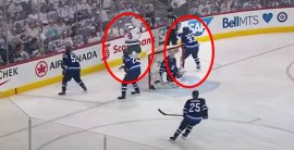 VIDEO: Byfuglien vs. Koivu