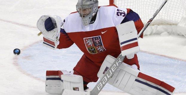 86a282cbe507b Český brankár si v NHL získal dôveru, Francouz predĺžil zmluvu s ...