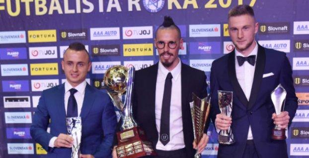 e5ae061bc8 Marek Hamšík sa stal Futbalistom roka a slovenským Futbalistom ...