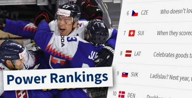 Power Ranking IIHF