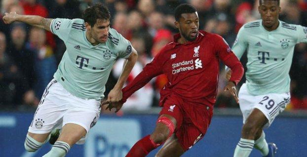 38ed4fb6ceac6 1. zápasy osemfinále Ligy majstrov 2018/2019: FC Liverpool - Bayern Mníchov  0:0