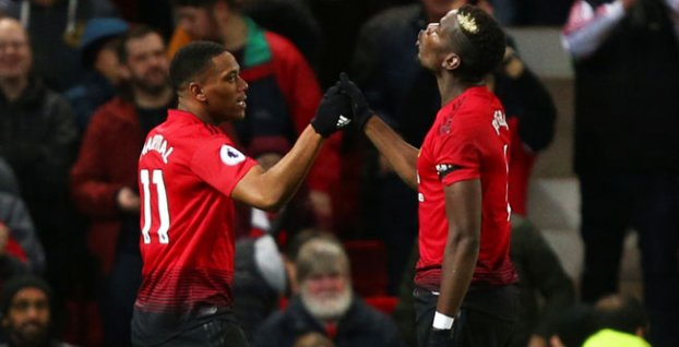 Anthony Martial a Paul Pogba