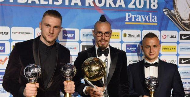 55ef4c38ab Výsledky ankety Futbalista roka 2018  Marek Hamšík vylepšil vlastný ...