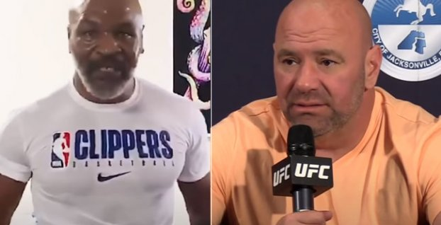 Mike Tyson, Dana White