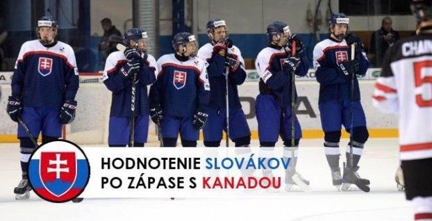 6fb4c069ef030 Hodnotenie slovenských hráčov po zápase s Kanadou | Šport7.sk