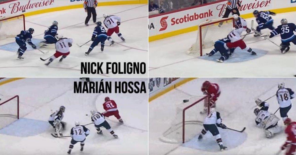 bc233e6aaba9c VIDEO: Foligno ako cez kopirák napodobnil nádherný gól Mariána Hossu.  Porovnajte si ich! | Šport7.sk