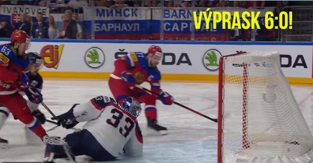 89bc093a39bf8 VIDEO: Ruská mašina rozobrala slovenskú defenzívu. Pozrite si všetkých 6  gólov v slovenskej sieti | Šport7.sk