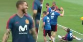 VIDEO: Ramos a Nacho